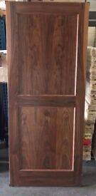 Walnut Veneer -2 Panel Doors