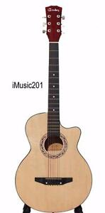 iMusic201 Acoustic Guitar for beginners students 38 inch brand New