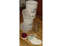 Wine Making Fermenting Bins, Demijohn, Wine Filter, Filters and Hydrometer