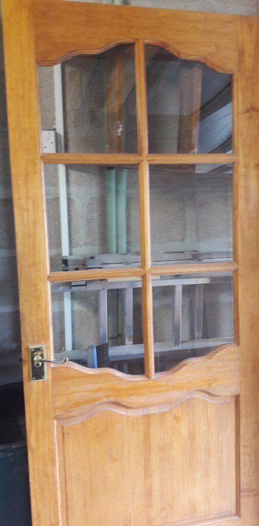 8 X Internal Pine Doors 1965 X 76 Cm 1 Glazed Door 1965 X 76cm 1