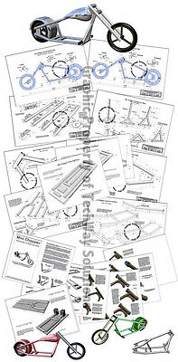 Mini Chopper Plans - Mini Motorcycle Plans  - Mini Bike - Better than a Go Kart  Bike Mini Chopper Go Kart