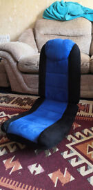 clamshell gaming chair up for grabs