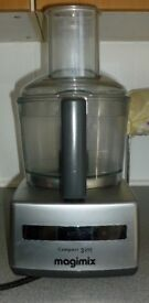 Magimix Compact 3200 Food Processor + Juicer + Attachments, Gently Used, £50 or best offer