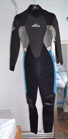 Wetsuit, females, 'Solar fine Titanium', small, size 10, hardly used, £45.00
