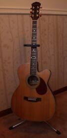 Freshman Apollo 1OC electro acoustic guitar for sale