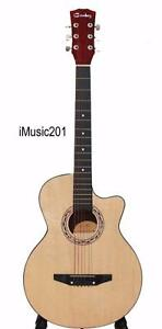 Free delivery iMusic201 Acoustic Guitar for beginners students 38 inch brand New