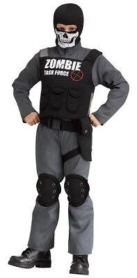 Child Unisex ZOMBIE TASK FORCE Halloween Costume