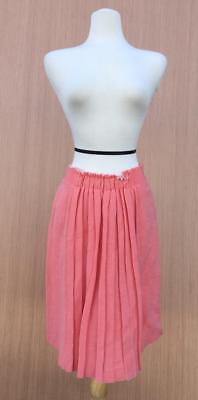 NWT Elie Tahari LUNA Linen Blend Skirt  Color: Coral  93% Off!