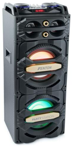 Fenton LIVE2101 Bluetooth Partystation 800W met LED's