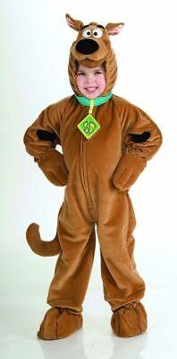 Jungen Kind Lizenziert Plüsch Scooby-Doo Braun Hund - Scooby Doo Hund Kostüm