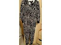 Giraffe NEXT Fleece Ladies Onesie