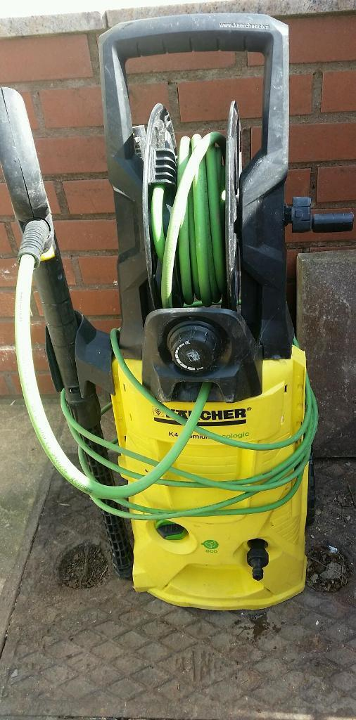 karcher k4 premium ecologic pressure washer spares repair in plymouth devon gumtree. Black Bedroom Furniture Sets. Home Design Ideas