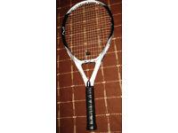 Wilson KFactor KThree FX 115, Grip L2, Comfortable Tennis Racket, RRP £200