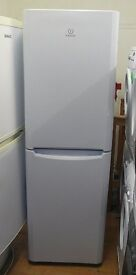 Indesit frost free Fridge freezer 6 foot 2 high 50/50 split 60cm wide