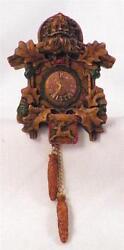 Cuckoo Clock Hallmark Ornament Christmas 1984 Vintage QX4551 OB Old World NICE