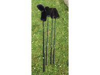 4 x Golf clubs