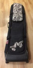 Rome, wheelie travel bag, for two snowboards