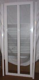 Bi-fold shower door (760 - 780mm)