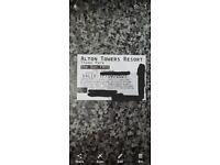 Alton Towers Ticket - 17/09/2021 - meet at park