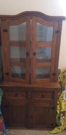 Corona dresser display unit