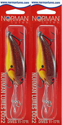 Norman Lures Deep Diver 22 GDD22-228 Gold Dust**