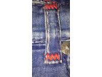 *TRUE RELIGION JEANS SIZE 38 BLUE AND RED* ONLY £80 ONO