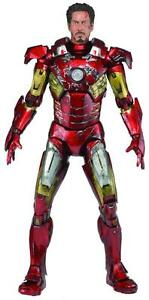Avengers Battle Damaged Iron Man 1/4 Scale Action Figure