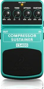 New  Behringer CS400 Ultimate Dynamics Effects Pedal