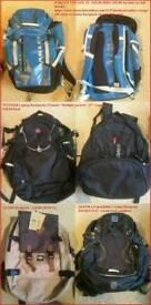 Various Laptop Backpack Rucksacks - Wenger Oakley Guide Altura
