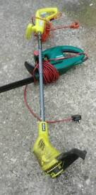 Ryobi strimmer and qualcast hedgemaster both in very good used condition work as they should