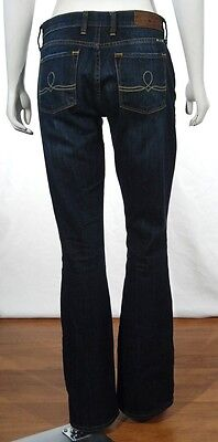 Lucky Brand Jeans Womens Sofia Boot Cut Jeans Size 2/26 Short Dark Wash 7WC1005 on Rummage