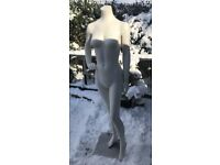 FEMALE STANDING POSE MANNEQUIN WITH STAND- £45