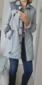 Louis Feraud softly quilted lightweight jacket 14. RRP £124