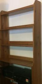 Free standing wooden Book shelf ,