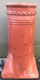 Vintage tall Chimney Pot