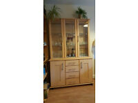Glass Fronted Dining Cabinet
