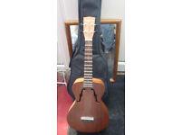 Ashbury tenor ukulele all solid mahogany