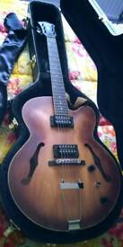 Ibanez AF55 Semi-Hollow Electric Guitar WITH IBANEZ HARD CASE