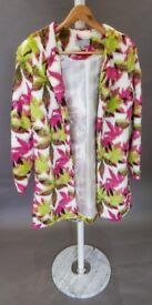 Multicoloured women's coat (38 / UK 10)