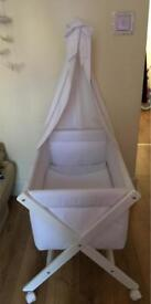 CAMBRASS crib/ small bed with canopy
