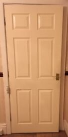 Cream, soild fire doors!
