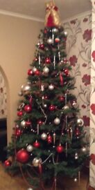 Stunning 8 foot Christmas tree