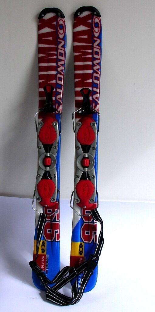 Salomon Minimax 99 Snow Blades Snowblades With Bindings