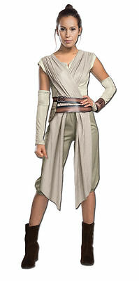 Star Wars REY Deluxe Force Awakens WOMENS ADULT Cosplay Costume S,M,L - Female Star Wars Cosplay