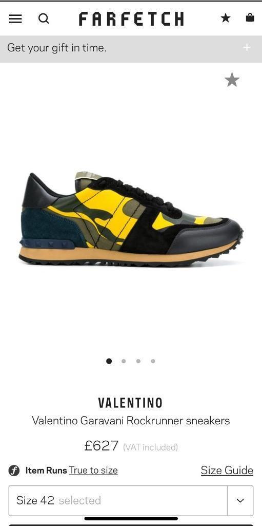 3cee6285ac5c5 Valentino Garavani Rockrunner sneakers | in Rusholme, Manchester ...