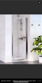 Brand New Aqualux Shine series Bifold shower door