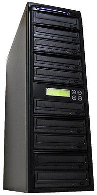 Produplicator 1 to 9 24X CD DVD Duplicator Copier  with Nero