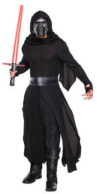 Mens Adult Deluxe Kylo Ren Costume Star Wars The Force Awakens Disney