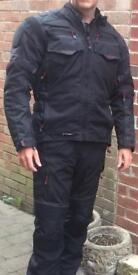 Frank Thomas Motorcycle Jacket and Salopettes
