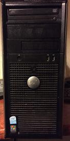 Dell Optiplex 320 Desktop PC - SPARES... INCLUDES POWER SUPPLY, DVD, INTEL CHIP
